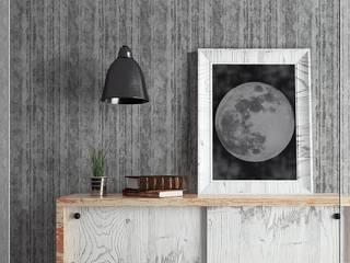 Colección de Papel Tapiz Natura Decora Pro Paredes y pisosDecoración de paredes Papel Gris