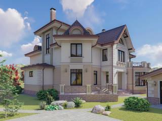Загородный дом в пос. Папушево от Архитектурная дизайн-студия СеНат