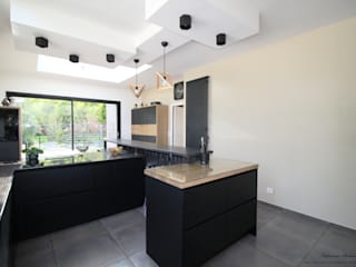 Rénovation d'une cuisine par Tiphaine PENNEC Moderne