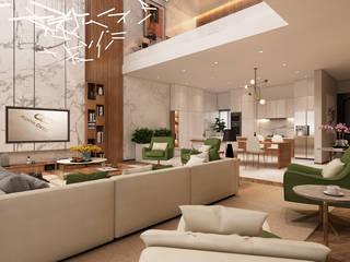 Projeto de interiores , Albufeira Alpha Details Salas de jantar modernas