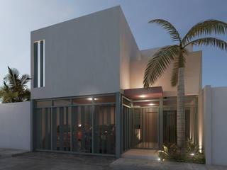 Modern home by Punto Libre Arquitectura Modern