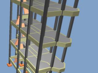 Projeto estrutural por Projetos estruturais Moderno