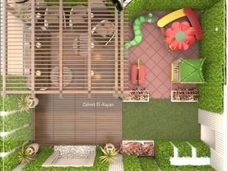 تنسيق حدائق منازل من زهرة الريان _zr