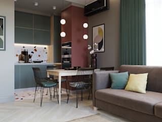 by SAPAROVA design interior Eclectic