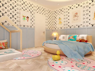 HC Designs Small bedroom Plywood White