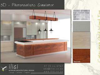 Kitchen Design _ 3D Photorealistc Design Simulator by ilisi Interior Architectural Design Rustic