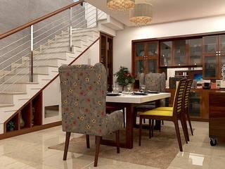 Luxury interiors in Bangalore- 2bhk house by Pristine Decore