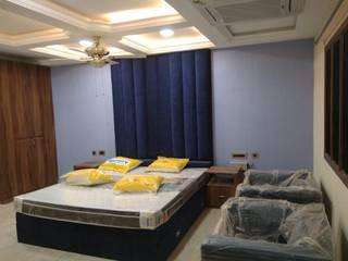 Mr & Mrs Murali Kanchipuram Classic style bedroom by D'FUN ARCHITECTS Classic