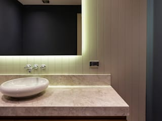 Zekeriyaköy Villa Projesi Monlab Design BanyoDekorasyon Ahşap Ahşap rengi