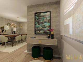 Andar Moradia - Póvoa de Varzim Salas de estar modernas por MIMAR Interiores Moderno