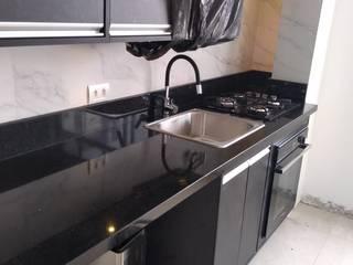 Marmoraria Mônaco KitchenSinks & taps Granit Black
