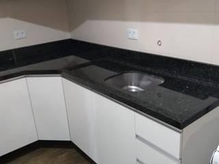 Marmoraria Mônaco KitchenSinks & taps Granit Green