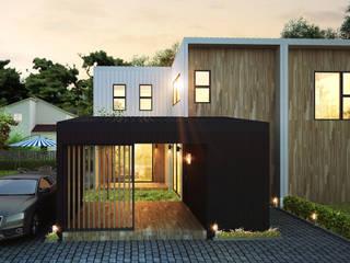 특별한 풍경을 일상에 담아내는 주택 by 공간제작소(주) 모던