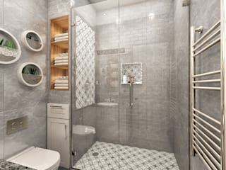 3D Renderings for Modern Moroccan Apartment by FUSSON STUDIO