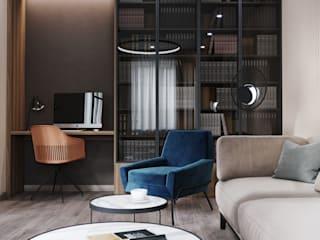Salon scandinave par DesignNika Scandinave