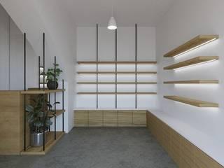 YGA/Yasemin Güler Archıtecture – Bags and Fuits Mini Shop Design: minimalist tarz , Minimalist