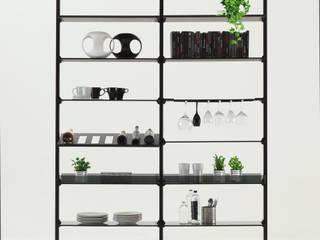 DL 300 CLARK libreria/cabina armadio di XABITAre Moderno