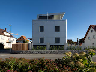 Maisons modernes par Architektur Andrea Rehm Moderne