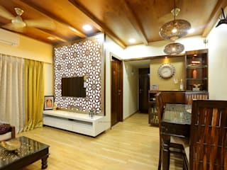 Interior Design of Mr.Abhay Milkhe's Residence Classic style living room by Neha Dharkar Classic