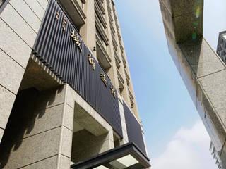 博德新城 根據 長弘建築師事務所 簡約風