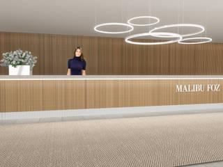 Hotel Malibu Foz por GMA Studio Minimalista