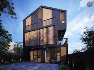 House - A by Mediocres Studio Private Limited Scandinavian