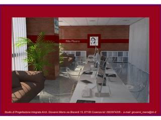 Progetto di Restilyng della Sala Stampa del Consiglio Regionale della Calabria di Architetto Giovanni Marra Studio di Progettazione Integrata