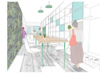Espacio gastronómico de Per Se arquitectura