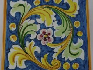 Piastrelle in ceramica di Caltagirone di Ceramiche Il Rustico Caltagirone Mediterraneo