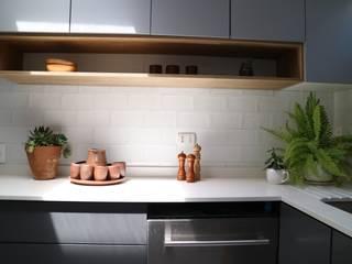 Remodelación Casa la Guaica Nido Arquitectos Cocinas de estilo mediterráneo