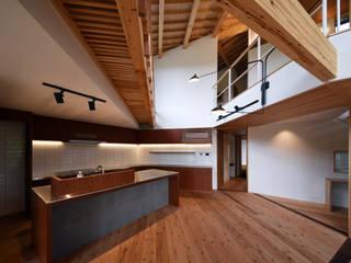 久木原工務店 Built-in kitchens Wood