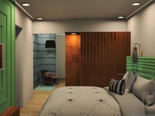 Omaxe residency by tanushree Agarwal Designs Minimalist