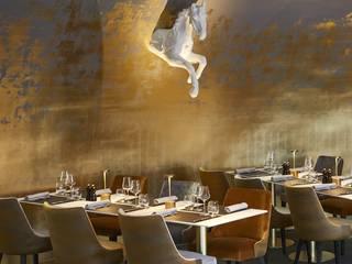 Eclairage nomade hôtels et restaurants - la Luxciole de Hisle Gastronomie moderne par direct-d-sign sas Moderne