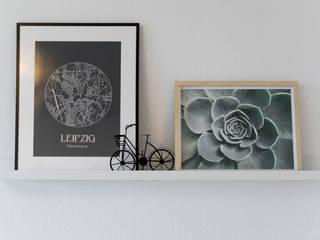 Möblierte Vermietung auf Zeit Wohnjuwel Home Staging SchlafzimmerAccessoires und Dekoration