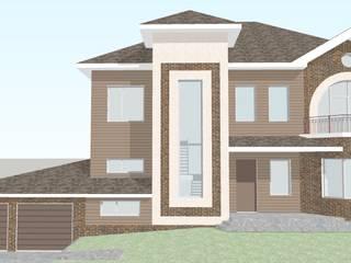 Индивидуальный жилой дом в г. Нягань от Архитектор - проектировщик