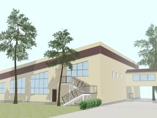 Оздоровительный комплекс на базе отдыха от Архитектор - проектировщик