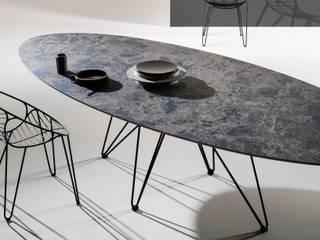 Tables design en céramique de la marque Joli Salle à manger moderne par direct-d-sign sas Moderne