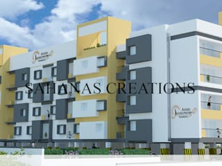 Architects for Apartments by Sahana's Creations Architects and Interior Designers Modern