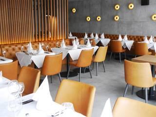 Hammer & Margrander Interior GmbH Gastronomia in stile industrial Variopinto