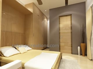 Interior Designers For Flats: modern  by Sahana's Creations Architects and Interior Designers,Modern