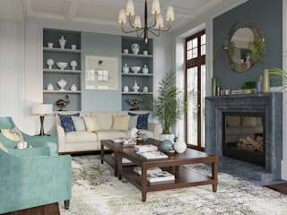 MARION STUDIO Classic style living room