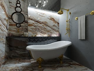 Eclectic style bathroom by ID_studio Eclectic