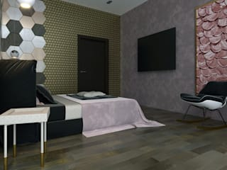 Eclectic style bedroom by ID_studio Eclectic