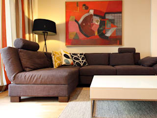 Modern living room by raumdeuter GbR Modern
