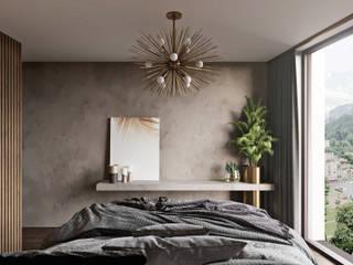 Modern style bedroom by Tim Gabriel Design Modern