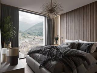 Tim Gabriel Design ห้องนอน Beige