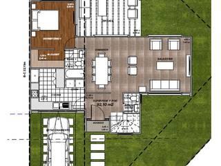 Mediterranean style house by R&R Construccion Mediterranean