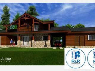 Modelo Constructivo 290 Casas estilo moderno: ideas, arquitectura e imágenes de R&R Construccion Moderno