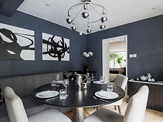 Modern dining room by B Squared Design Limited Modern