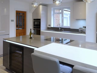 Another stunning #kitchen completed bởi PTC Kitchens Tối giản